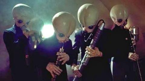 Star Wars - Los músicos de la cantina