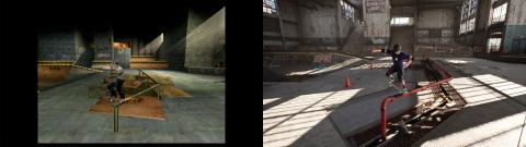 Tony Hawks Pro Skater 1+2 Antes y Después