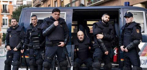 Antidisturbios serie TV