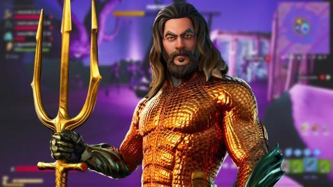 Aquaman Fortnite todos los desafíos
