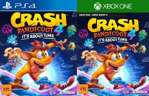 Crash Bandicoot 4 It's About Time, primeros detalles del nuevo ...