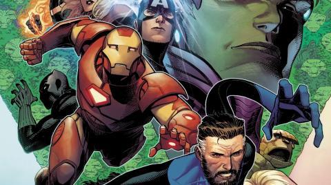 Empyre crossover Marvel