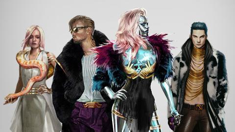Cyberpunk 2077 estilo