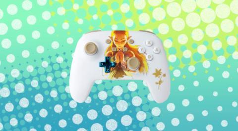 Mando PowerA de la Princesa Zelda