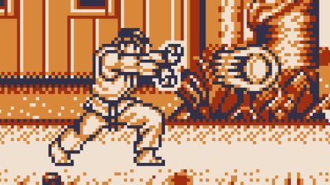Street Fighter 2 en Game Boy