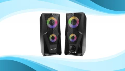 Altavoces Archer para PC con luces LED RGB