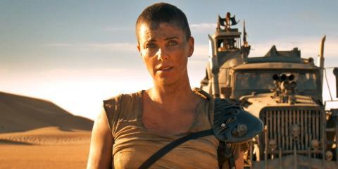Charlize Theron en Mad Max Furia en la carretera