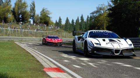 Ferrari esports event 488 challenge Evo