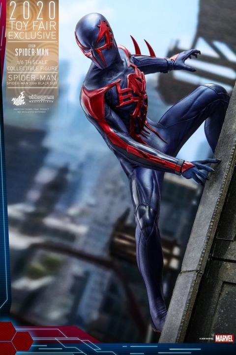 Figura Spiderman 2099 de Hot Toys