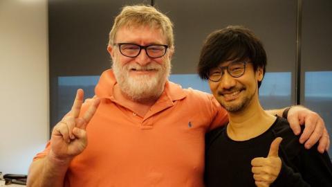 Hideo Kojima y Gabe Newell