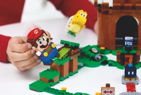 ya hemos probado LEGO Super Mario