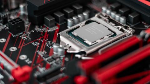 Procesador Intel Core i5 en placa base