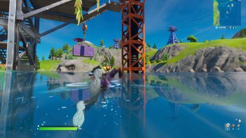 Prueba Aquaman Muelles Mugrientos Fortnite