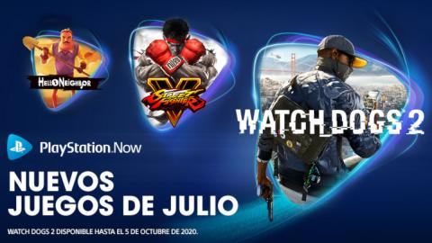 ps now julio