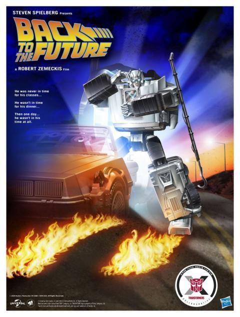 Regreso al futuro y Transformers