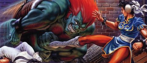 Street Fighter 2 portada