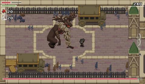 Yarntown - Bloodborne - Zelda