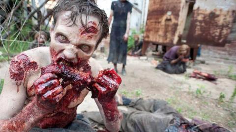Los zombis de The Walking Dead