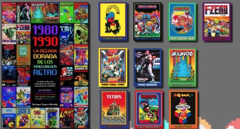 1980 1990 la década dorada de los videojuegos retro