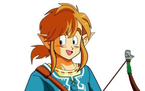 Dragon Ball - ¿Cómo sería la saga Zelda con el estilo de Akira Toriyama?