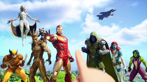 Fortnite Temporada 4 Nexus War