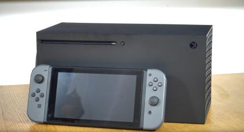 xbox series x nintendo switch