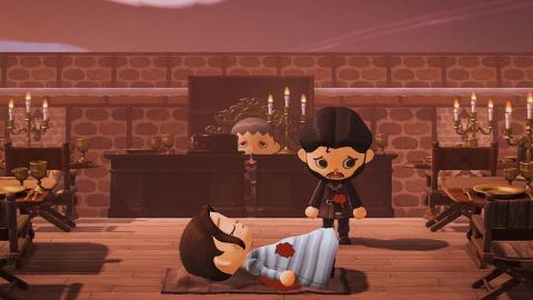 Boda Roja de Juego de Tronos en Animal Crossing New Horizons