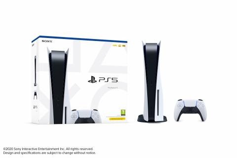 Packaging PS5 con lector UHD
