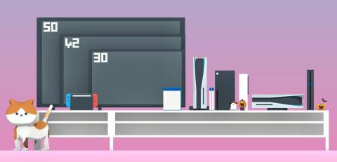Diagrama PS5 y Xbox Series X