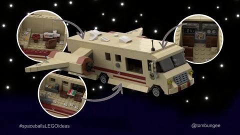 LEGO La loca historia de las galaxias (Spaceballs)