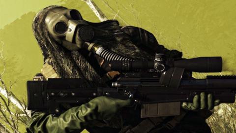 Máscara gas Warzone