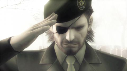 Metal Gear Solid 3 - Press F to pay respects