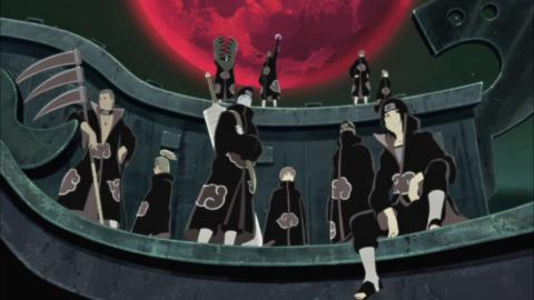 Naruto - Miembros de Akatsuki