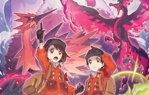 Pokemon Espada y Escudo Las nieves de la corona