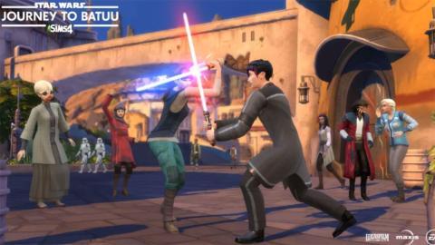 Los Sims 4 Viaje a Batuu