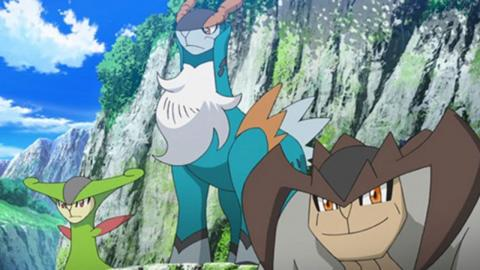 Cobalion, Terrakion y Virizion en Pokémon Espada y Escudo Las Nieves de la Corona