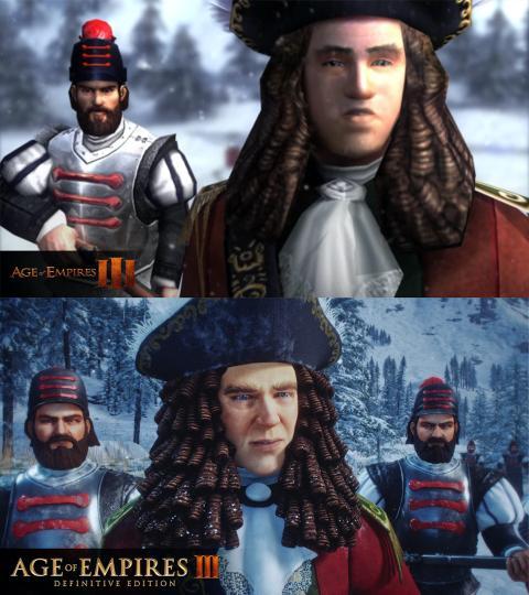 Comparativa Age of Empires III