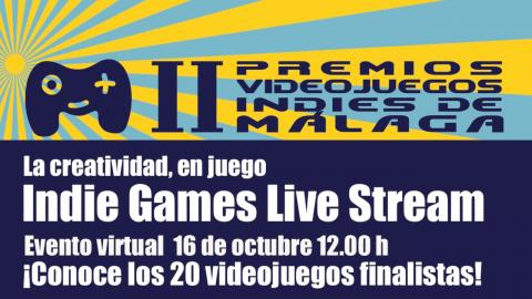 concurso nacional videojuegos indies indie malaga