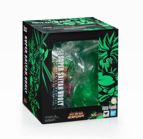 Figuarts Zero Super Saiyan Broly -The Burning Battles- Event Exclusive Color Edition