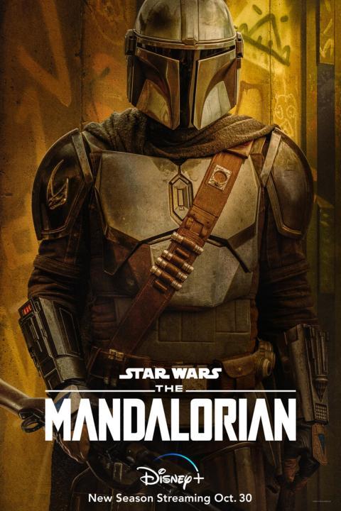 Pósteres The Mandalorian temporada 2 personajes