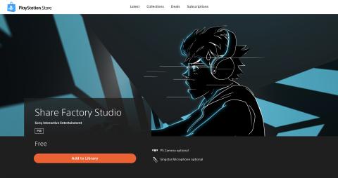 Share Factory Studio PS5