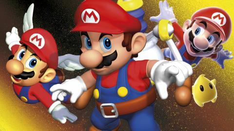 Super Mario 3D All Stars video branded