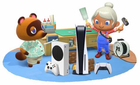 Animal Crossing New Horizons ps5 xbox series s