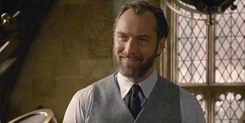 Animales Fantasticos - Jude Law como Dumbledore