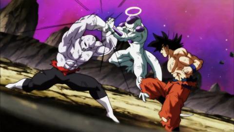 Dragon Ball Super - Goku y Freezer vs Jiren