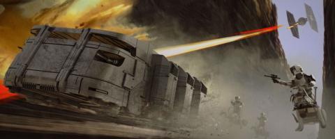 The Mandalorian 2x04 concept art