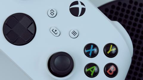 Análisis mando Xbox Series S