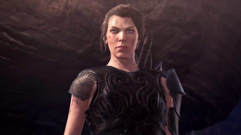 Monster Hunter World Iceborn - Milla Jovovich