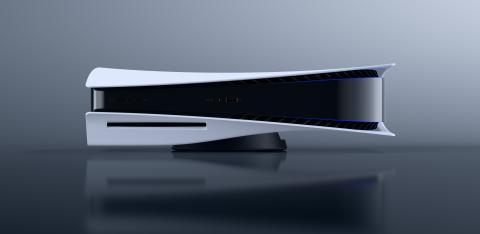 PS5 con lector de discos