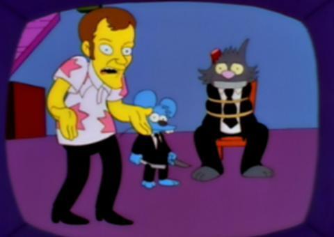 Quentin Tarantino en Los Simpson
